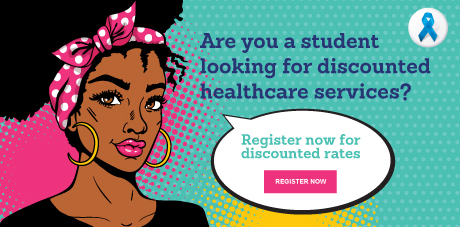 register for discounted std screening